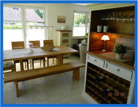 Küche im Haus Schifferkaten auf Zingst